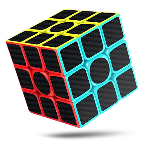 CFMOUR Original Speed Cube 3x3,Fast Magic Cube for Kids,Smooth Carbon Fiber Cubes,Puzzle Toys
