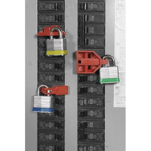 Brady BL01-6 Fixed price for sale 45301 Selling and selling Single Pole Breaker Packs 6 Lockout 10 of p