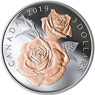 Sprott Collectibles Silver Coin (0.25 oz) (2019 Queen Elizabeth Rose Blossoms)