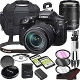 Canon EOS 90D DSLR Camera Bundle with 18-135mm USM Lens | Built-in Wi-Fi|32.5 MP CMOS Sensor | |DIGIC 8 Image Processor and Full HD Videos + 64GB Memory(17pcs)