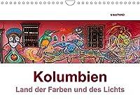 Kolumbien - Land der Farben und des Lichts (Wandkalender 2022 DIN A4 quer): Die Highlights Kolumbiens in beeindruckenden Panoramaaufnahmen (Monatskalender, 14 Seiten )
