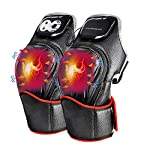 Electric Knee Massager for Pain Relief Arthritis Cramps with Heat and Kneading Vabration Rechargeable Physiotherapy Recovery Knee Joints Massager Brace Wrap Pads Heat (1 Pair) Ideal Gift for Mom Dad