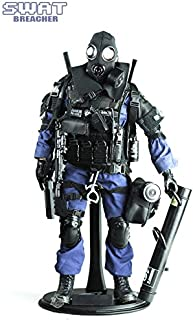 Super System Highly Detail Special Forces Action Figure SWAT Team-BREACHER