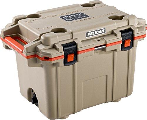 Pelican Elite 30 Quart Cooler (Tan/Orange)