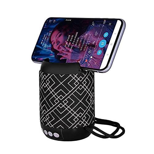 SCYMYBH Altavoz Bluetooth Super-portátil con Tiempo de Juego de 5 Horas, Rango de Bluetooth de 33 pies, Soporte TF Tarjeta/AUX/USB, Mic Incorporado para Viajes de Fiesta al Aire Libre en el hogar