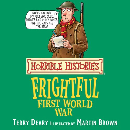 Horrible Histories: Frightful First World War cover art