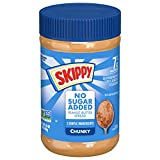 SKIPPY Peanut Butter Spread No Sugar Added, Chunky, 16 Ounce (Pack of 12)