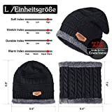 Zoom IMG-2 tagvo winter beanie hat sciarpa