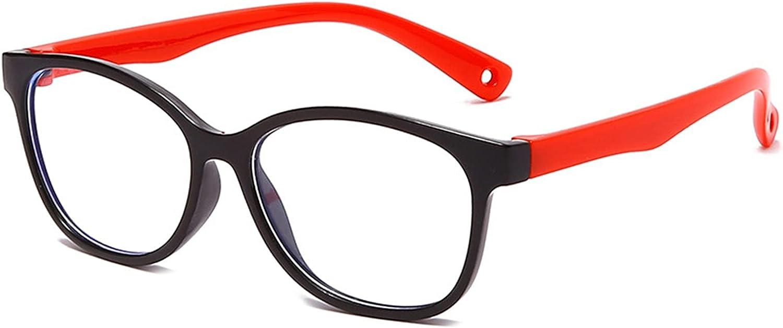 Delisouls Anti-Azul Gafas Profesionales Niños En Línea Gafas De Protección Ojos De Niños Azul Luz Bloquear Gafas