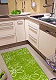 Kitchen Runner Washable and Öko-Tex 100Non-Slip Green and 2sizes available - 2