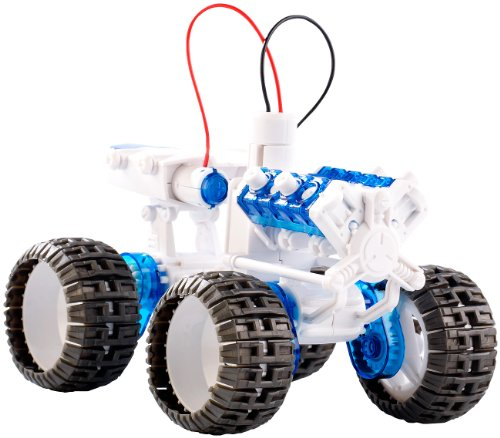 Playtastic Experimentierkasten: Experimentierbausatz für Monstertruck mit Salzwasserantrieb (Lernpaket)