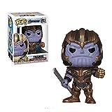 YISUDA Funko Pop The Avengers4 Iron Man/Capitán América/Spiderman/Groot Toys Doll Collectibles...