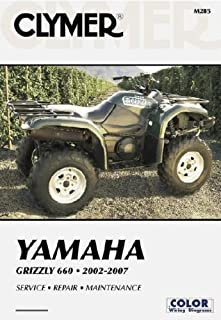 Yamaha Grizzly 660 2002-2007 (Clymer Motorcycle Repair) (Clymer Color Wiring Diagrams)