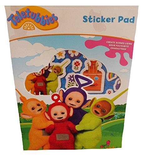 Disney- Teletubbies Bloc de Stickers, TTSTP