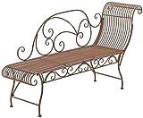 Banco da giardino, in ogni caso, il divano attirerà molti ammiratori, e la panchina del giardino con il lettino è di fronte alla sala,Brown