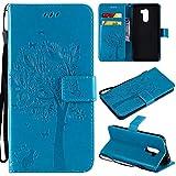 Cmid Xiaomi Pocophone F1 Case, PU Leather Wallet Case Flip