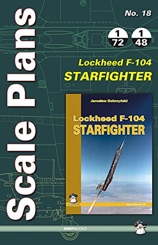 Scale Plans Lockheed Starfighter F-104: 18 (Scale Models)