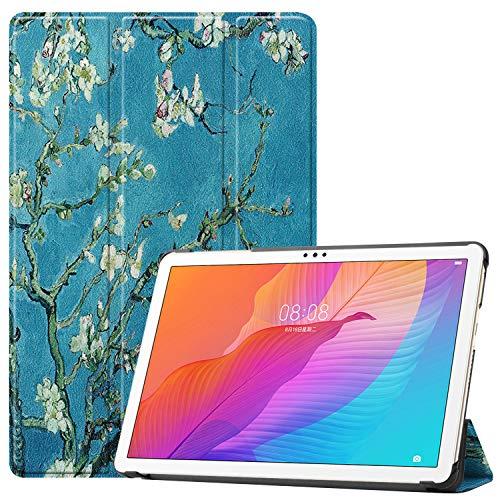 GoYi Funda Compatible con Huawei MatePad T10s 10.1' 2020 AGS3-L09/AGS3-W09, Estuche Carcasa Case Book Delgada PU TPU Folio con Soporte para Huawei MatePad T10s 10.1 Pulgadas 2020-XinHua