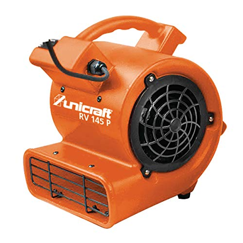 Unicraft RV 145 P 6262014 - Ventilador radial (caudal de aire máx. 600 m³/h, carcasa de polipropileno, gran rueda, 233 x 67 mm)