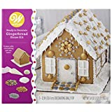 Wilton Ready-to-Decorate Dazzling Gingerbread House Decorating Kit