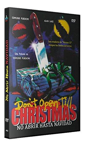 No Abrir Hasta Navidad DVD 1984 Don't Open 'Til Christmas