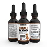 Nodens Small Dog Hip and Joint - Liquid Glucosamine for Small Dogs with Chondroitin and Opti-MSM, Hyaluronic Acid for Improved Joint Flexibility and Natural Pain Relief from Arthritis 2 floz bottle