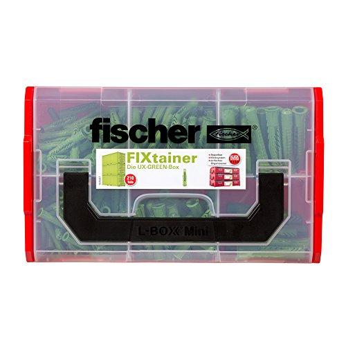Fischer 532894 Clavija de carpintería, Set de 210 Piezas