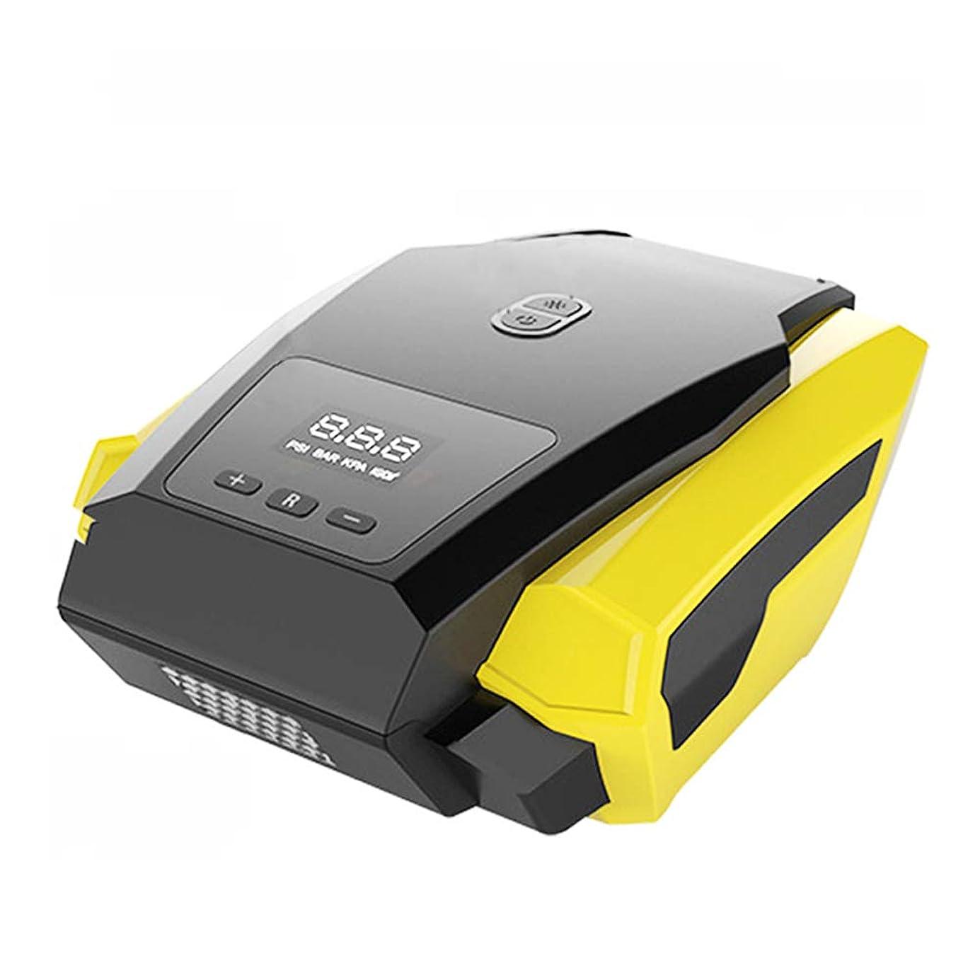 中国サイクル故意にポータブルインフレータブルポンプ、12Vタイヤ高速インフレータ、デジタルディスプレイ、インテリジェント制御、リアルタイム圧力測定、夜間照明、隠し保管