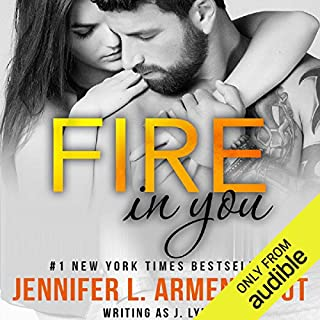 Fire in You audiobook cover art