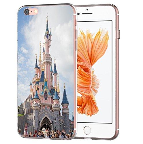 blitzversand Handyhülle Boutique Paris kompatibel für iPhone 11 Pro Disneyland Paris Schutz Hülle Hülle Bumper transparent M2