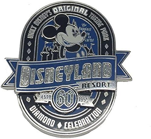 Disneyland 60th Diamond Anniversary Walt Disney Original Theme Park Trading Pin
