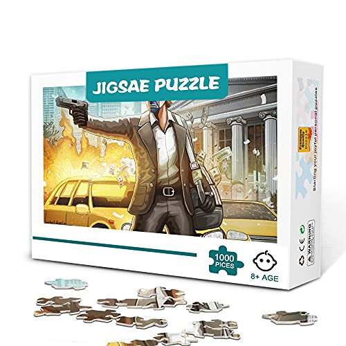 1000 piezas de rompecabezas avanzados. Joker Adecuado para jugar en familia.