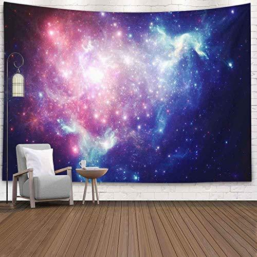 OMNHGFUG Tapiz de pared de invierno para Navidad, Día de Acción de Gracias, 20 x 152 cm, diseño de nebulosa espacial, para colgar en la pared, para dormitorio, sala de estar o casa