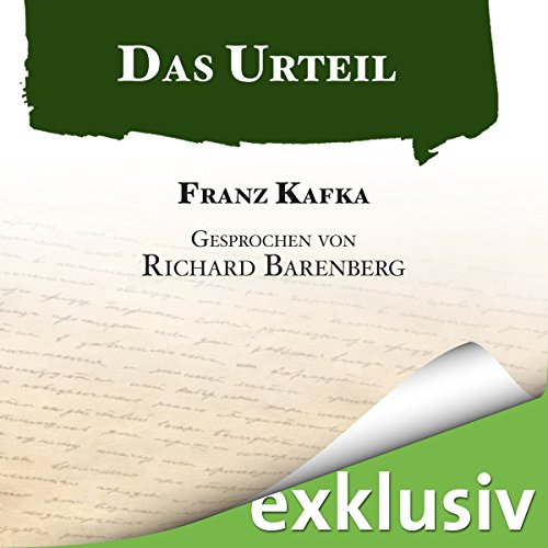 Das Urteil audiobook cover art