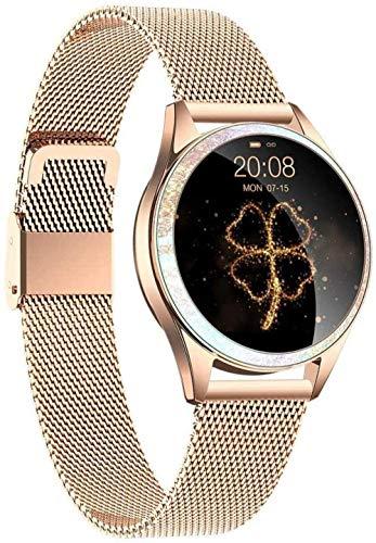 JSL Reloj deportivo clásico para mujer, pulsera inteligente Ip68, resistente al agua, recordatorio de ciclo menstrual