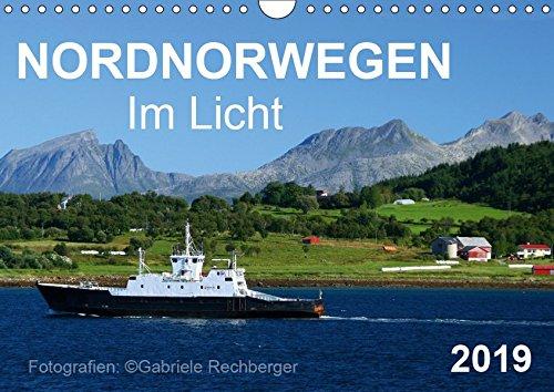 Nordnorwegen im Licht (Wandkalender 2019 DIN A4 quer): Nordnorwegen im Licht: eine fotografische Reise durch die magische Küstenlandschaft Nordnorwegens (Monatskalender, 14 Seiten ) (CALVENDO Natur)