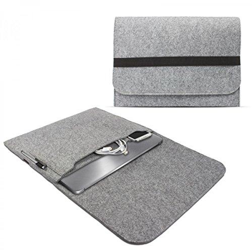 eFabrik Feltro Sleeve Cover per ASUS ZenBook UX310UA, UX310UQ e ZenBook UX330UA Custodia (13,3 Pollici) Notebook Caso di Protezione Ultrabook Laptop Grigio