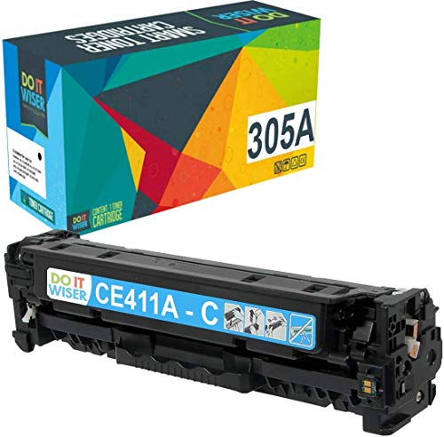 Do it Wiser Remanufactured Toner Cartridge Replacement for HP 305A 305X CE410X CE411A CE412A CE413A HP Laserjet Pro 400 Color MFP M451nw,M451dn, M451dw, MFP M475dn, Pro 300 Color MFP M375nw - 4 Pack Photo #3