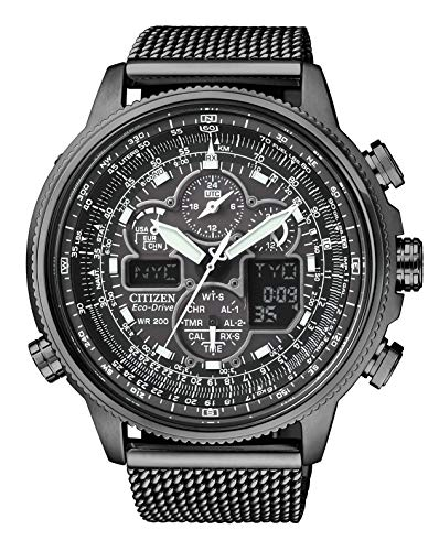 [シチズン] 腕時計 プロマスター エコ・ドライブ電波時計 クロノグラフ 特定店取扱モデル JY8037-50E メンズ ブラック