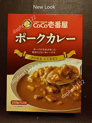 CoCo Ichibanya Curry House Pork curry pack of four
