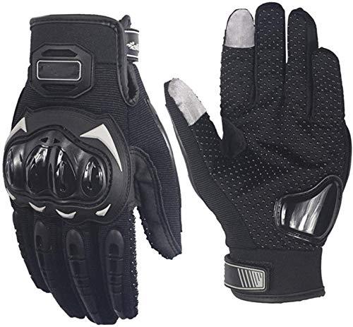 XUEXIU Guantes de Invierno para Mujer Hombres Guantes De Carreras De Motocicletas Motocross Off-Road Enduro Full Finger Gloves (Color : 1, Size : L)