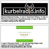 infactory Kurbelradio: Batteriefreies Solar- & Dynamo-Koffer-Radio mit LED-Lampe (Notfallradio) - 6