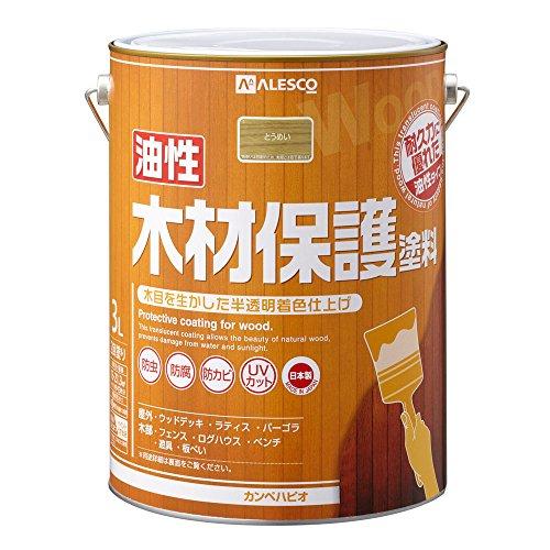 カンペハピオ 油性木材保護塗料 3L とうめい