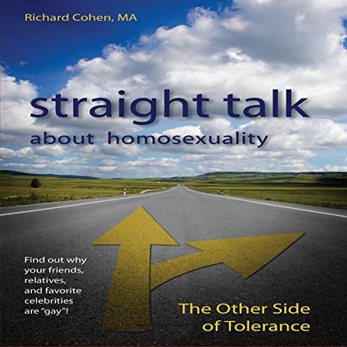 Straight Talk About Homosexuality audiobook cover art
