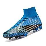 CERYTHRINA Chaussures de Football Compétition Mixte Enfant Homme High Top Spike Crampons Chaussures de Foot pour Chaussures de Football Garçon Unsisexe