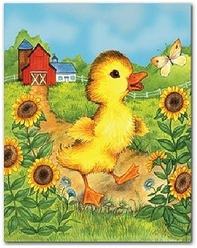 servicio de primera clase Briar Patch A Little oroen Book Book Book Fuzzy Duckling 24 Piece Jigsaw Puzzle by Briar Patch  compra en línea hoy