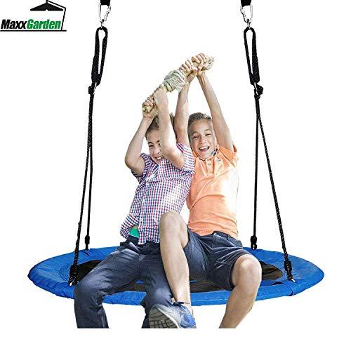 Maxx nid Swing, balançoire Suspendue Ronde, pour Enfants et Adultes,...