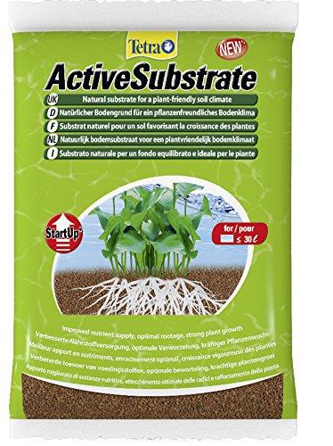 Tetra ActiveSubstrate (natürlicher Bodengrund aus wasserneutralen Tonmineralien, Alternative zu Aquarienkies), 3 Liter Eimer