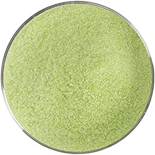 Amazon Green Opalescent Fine Frit - 96COE - 4oz - Made from System 96 Glass