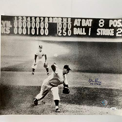 Don Larsen (New York Yankees) Signed Autographed 8x10 Photo (PSA/DNA COA)